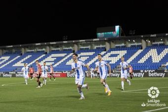 El canterano Manu Garrido, con opciones de quedarse en el primer equipo del CD Leganés. LaLiga
