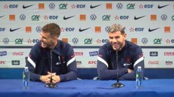 Les frères Hernandez enfin réunis en équipe de France. Capture/EquipeDeFrance