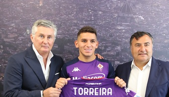 Torreira has arrived on loan with an option to buy. acffiorentina
