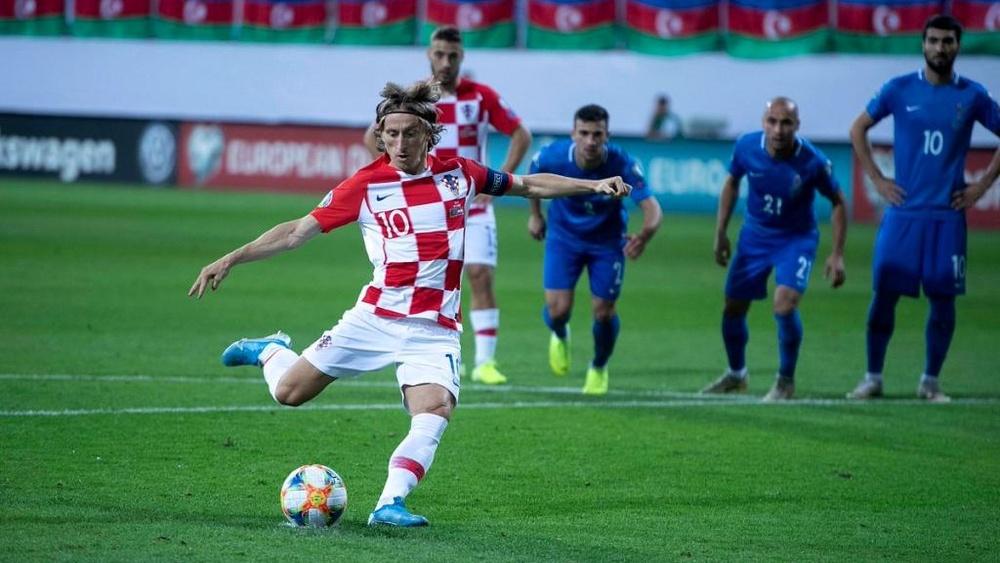 Croácia e Eslováquia ficam no empate. Twitter/HNS_CFF