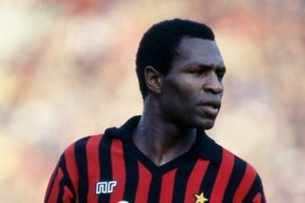 Luther Blissett, en su etapa como jugador del Milan en los años 80.
