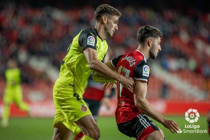 El Girona venció a domicilio ante el Mirandés (1-2). LaLiga
