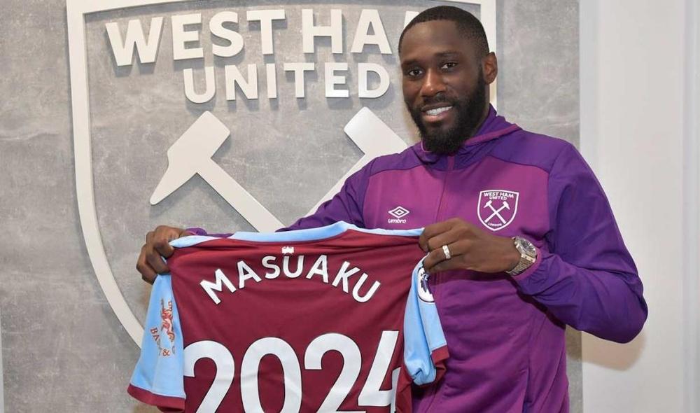 Masuaku renovó con el West Ham. WestHam