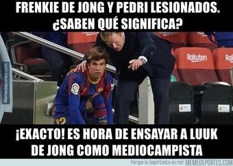 Los mejores memes del Rayo Vallecano-Barcelona. Twitter