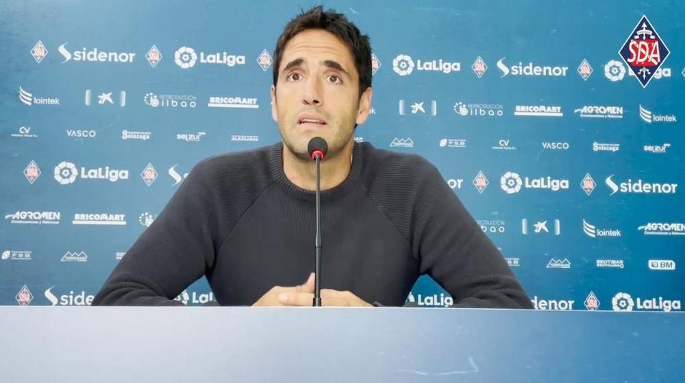 Íñigo Vélez saldrá a buscar el segundo triunfo seguido. Captura/SDAmorebieta