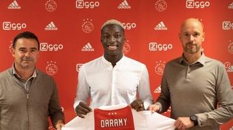 Daramy rejoint l'Ajax Amsterdam. AFCAjax