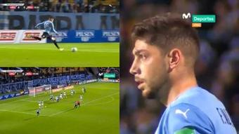 Uruguay venció 4-2 a Bolivia. Captura/Movistar