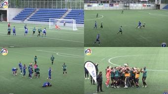 El Sant Julià se llevó la victoria por 2-1. Captura/FederacióAndorranadeFutbol