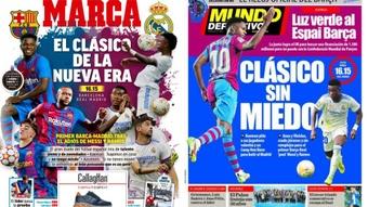 Capas da imprensa desportiva 24 de outubro de 2021.Marca/MD