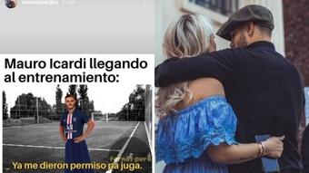 Barijho compartió un meme de Icardi. Capturas/Instagram/antoniobarijho/mauroicardi