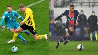 Según Ferrer, el Barça no sería el mejor equipo para Haaland o Mbappé. AFP