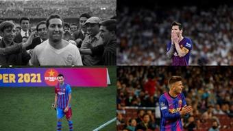 Los 10 jugadores que han ganado más veces el 'Clásico'. Montaje/EFE/Archivo