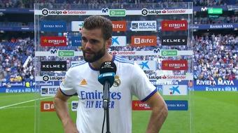 Nacho says Madrid needs to improve in defence. Screenshot/MoviestarLaLiga