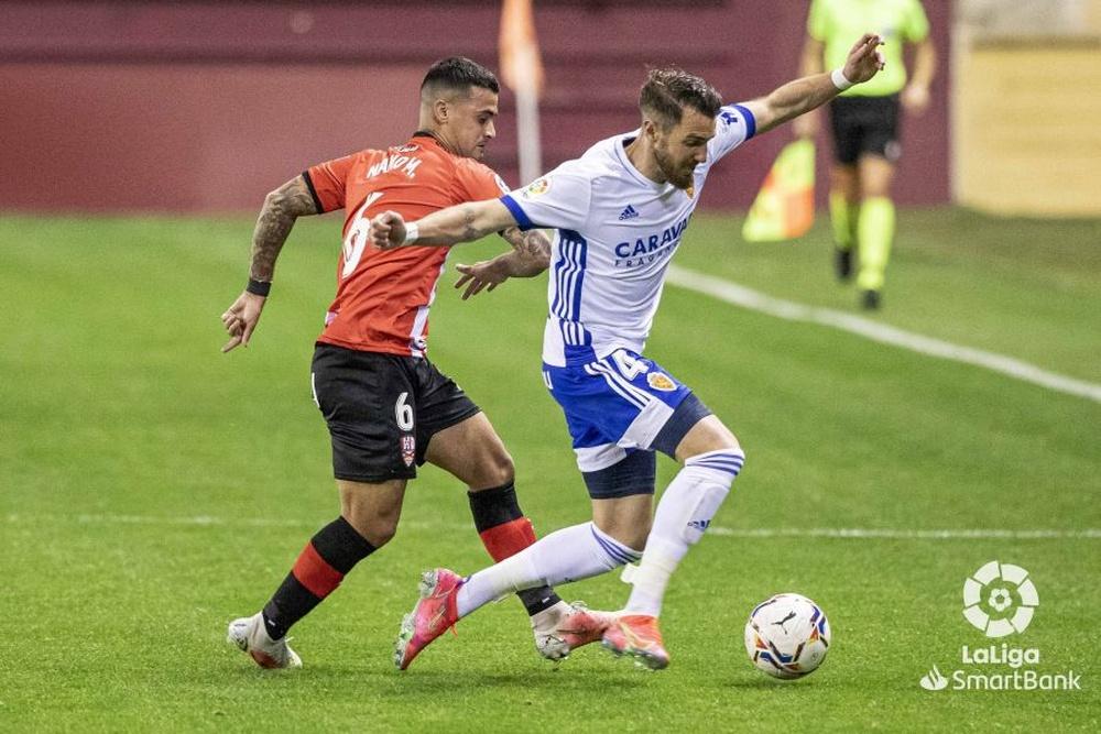 El Zaragoza se fija en Nano Mesa para su delantera. LaLiga