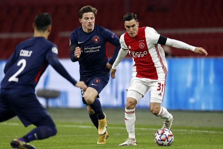 Tagliafico et Neres veulent quitter l'Ajax. EFE/EPA/Maurice van Steen