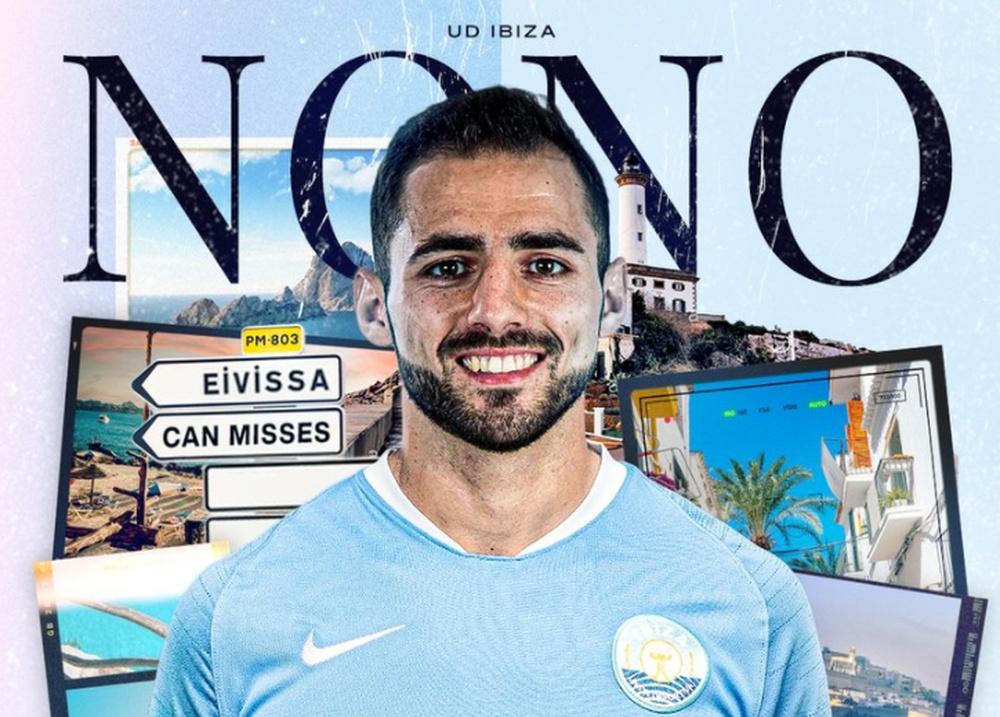 Nono será nuevo jugador del Ibiza. Captura/ibizaud