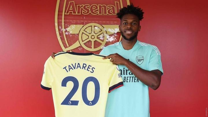 Nuno Tavares, al Arsenal. ArsenalFC