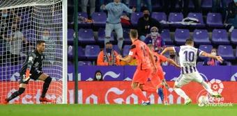 Dani Martín ha sido titular en los cinco últimos partidos del Málaga. LaLiga