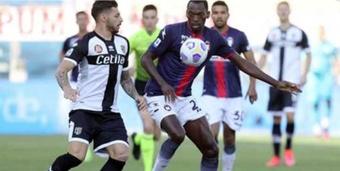 Le Milan a recruté Junior Messias de Crotone. Captura/BeinSports