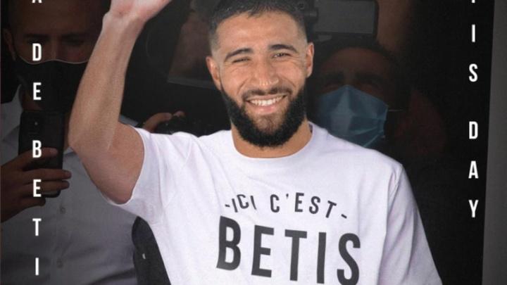 Fekir, imagen promocional del partido del Betis. RealBetis