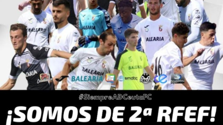 Misfutt lleva al Ceuta a la gloria y al Xerez a los infiernos. Twitter/ADCeuta_FC