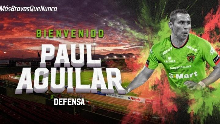Paul Aguilar refuerza la zaga de Juárez. fcjuarezoficial