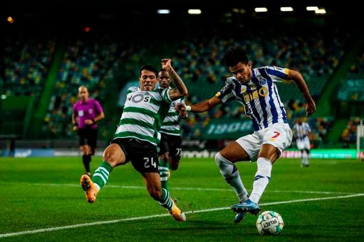 Sporting e Porto empatam e o Benfica agradece. AFP