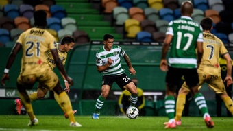 Pedro Porro irrumpe en la lista de objetivos del Madrid. AFP