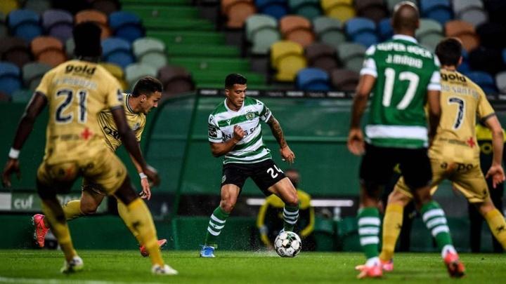 City quer o pagamento do Sporting já.AFP