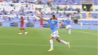 Pedro Rodríguez volvió a marcarle a Mourinho.  Captura/Youtube/SerieA