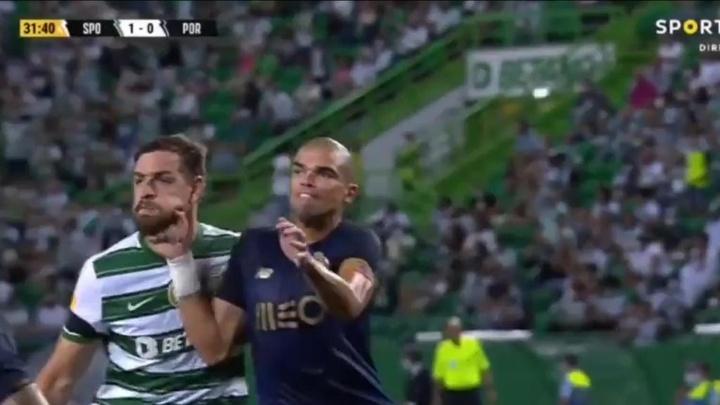 Pepe incertain ce week-end. EFE