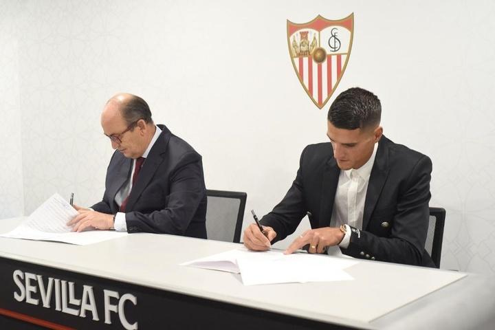'L'exemple de Banega n'est pas mauvais, il est venu et a pris son envol.'  Twitter/SevillaFC