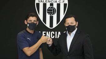 Angulo, nuevo entrenador del filial del Valencia. ValenciaCF