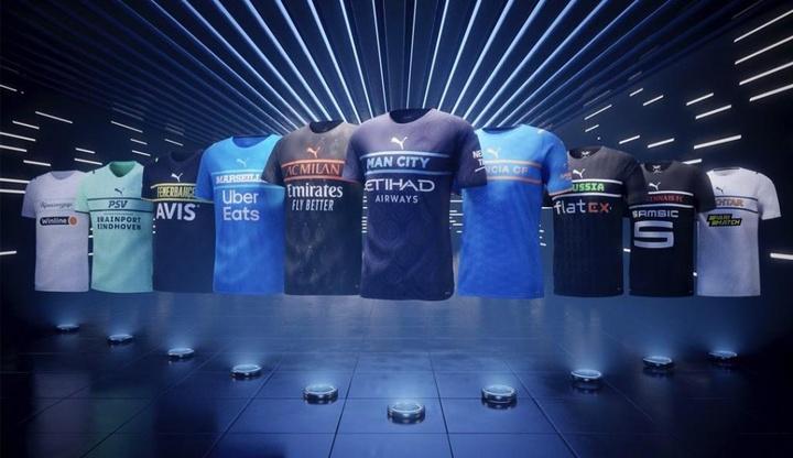 Las controvertidas diez camisetas que presentó Puma para la 21-22. Puma