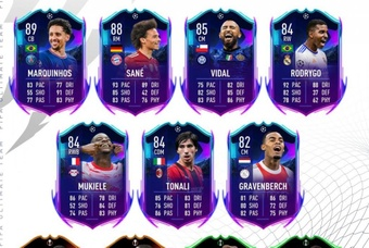 Primer equipo Road to the Knockkouts de FIFA 22. Twitter/EASPORTSFIFA
