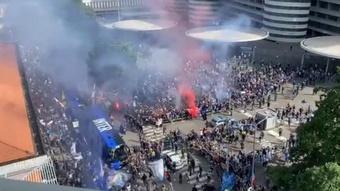 El Inter se enfrenta este sábado a la Sampdoria. Captura/SkySports