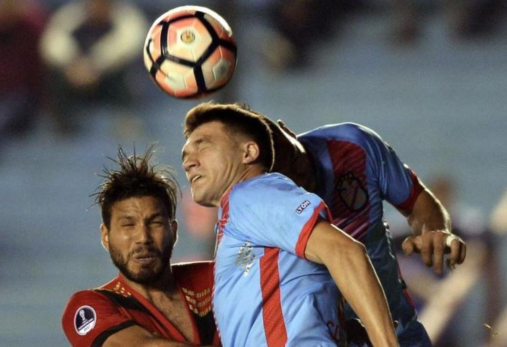 Rondina, satisfecho con el papel de Arsenal en la Sudamericana. EFE