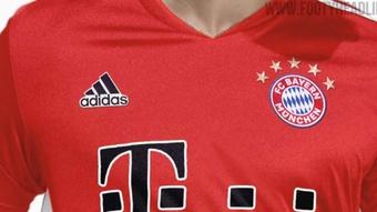 El Bayern pasará del negro al blanco como color complementario en 2022. FootyHeadlines