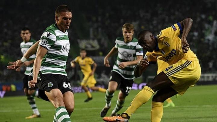 Joao Palhinha, uno de los mejores del Sporting, próximo a renovar. AFP