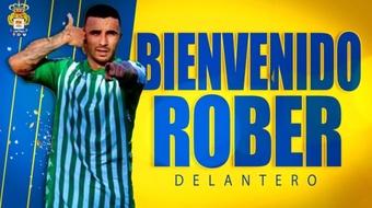 Rober González jugará en Las Palmas cedido por el Betis Deportivo. EFE
