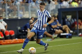 Roberto renovó con el Málaga. MálagaCF