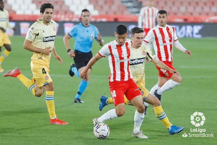 Almería y Espanyol empataron. LaLiga