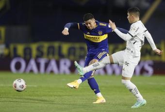 Boca y Mineiro empataron a cero. EFE
