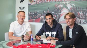 Roko Simic renovó su contrato. Salzburgo