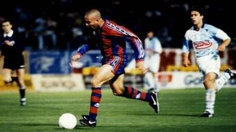 25 años se cumplen de la maravilla de Ronaldo en Compostela. EFE
