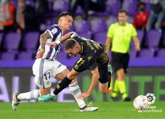 El Valladolid volvió a ganar tras tres derrotas consecutivas. LaLiga