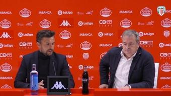 Rubén Albés, optimista con el inicio de la temporada en Oviedo. YouTube/CDLugo