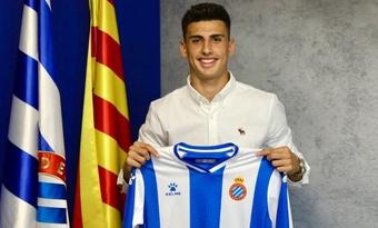 Rubén Sánchez debutó con el Espanyol ante el Cádiz. Twitter/ruben2sanchez