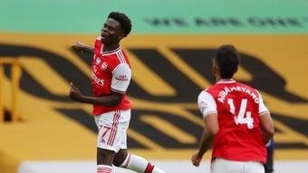 O Arsenal classifica Saka como intocável. Arsenal