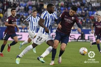 La SD Huesca y el Málaga empataron a cero. LaLiga
